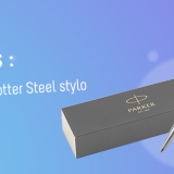 Stylo Parker Jotter Steel