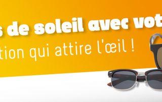 lunettes de soleil avec votre logo